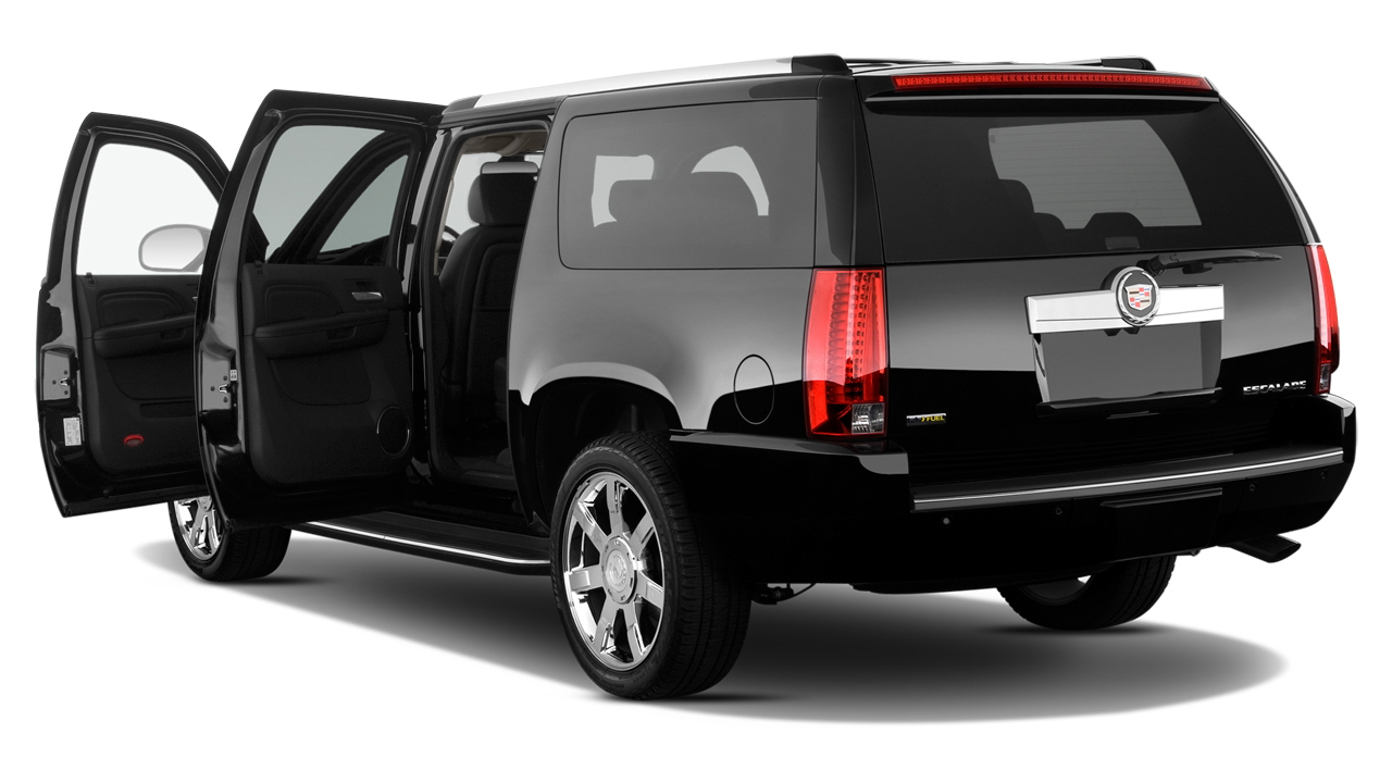 2012 Cadillac Escalade ESV 2WD 4-door Base Open Doors