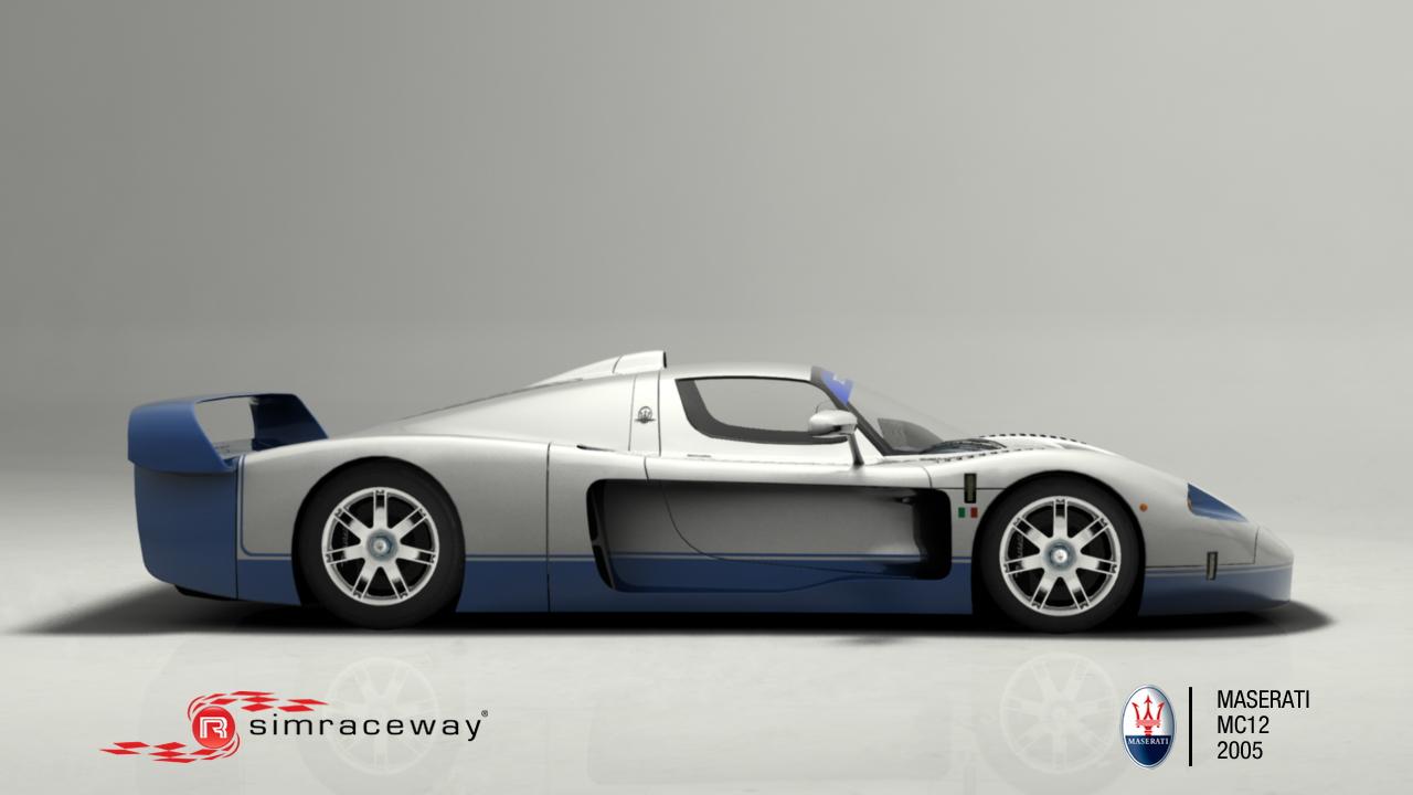 Simraceway Maserati MC12