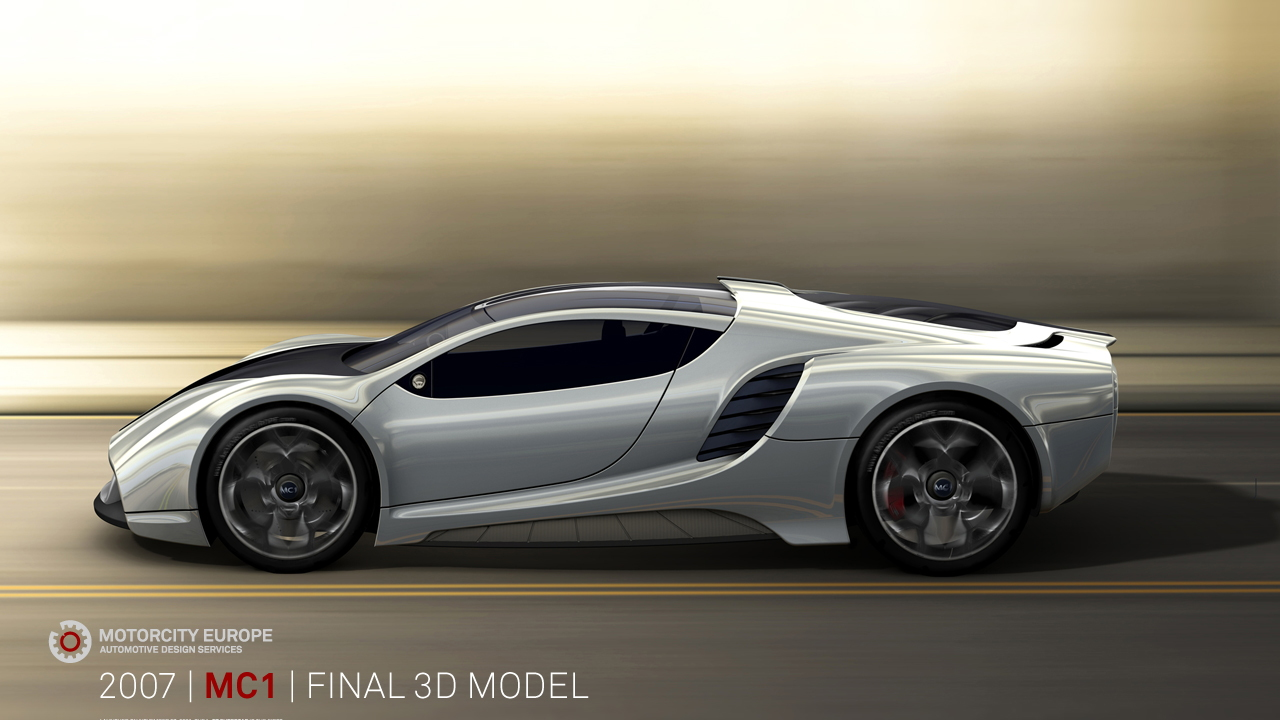 Motorcity Europe Mc 1 Supercar Concept