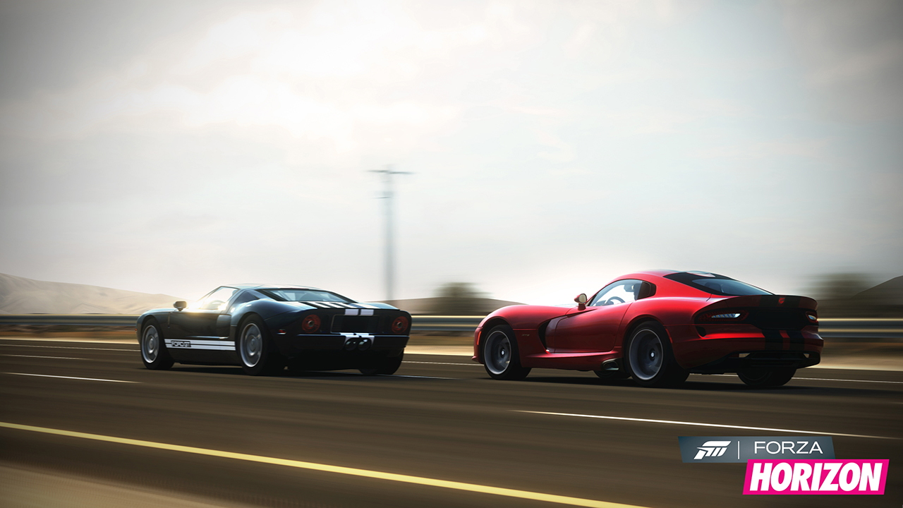 Screen grabs from Forza Horizon