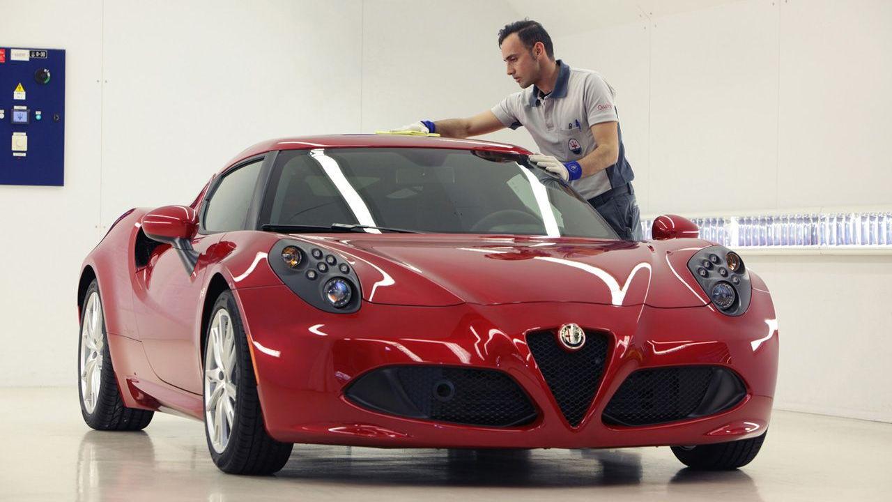 Alfa Romeo 4C production