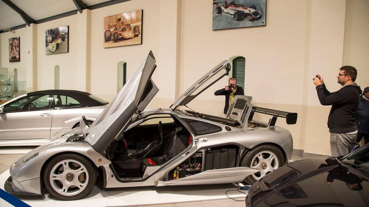 McLaren F1 at Franschhoek Motor Museum, South Africa