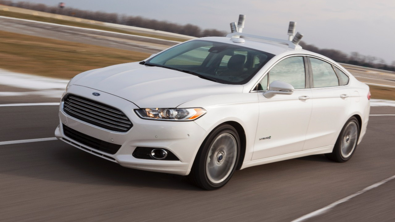 Ford Fusion Hybrid automated driving research vehicle