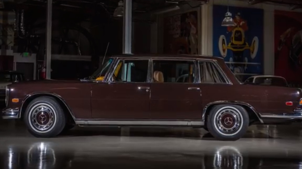 Jay Leno's Garage 1972 Mercedes-Benz 600 Kompressor screencap