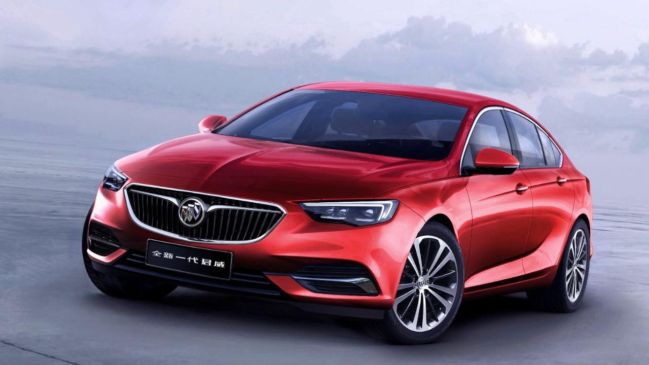 2018 Buick Regal sedan for China
