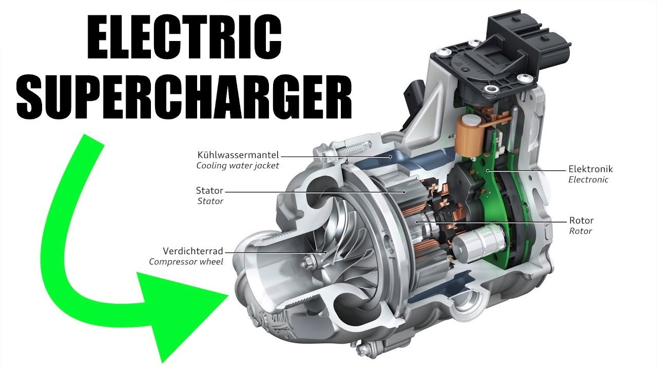 Audi is eliminating turbo lag with electric superchargers