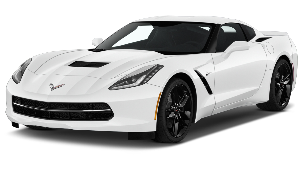 2019 Chevrolet Corvette 2-door Stingray Z51 Coupe w/1LT Angular Front Exterior View