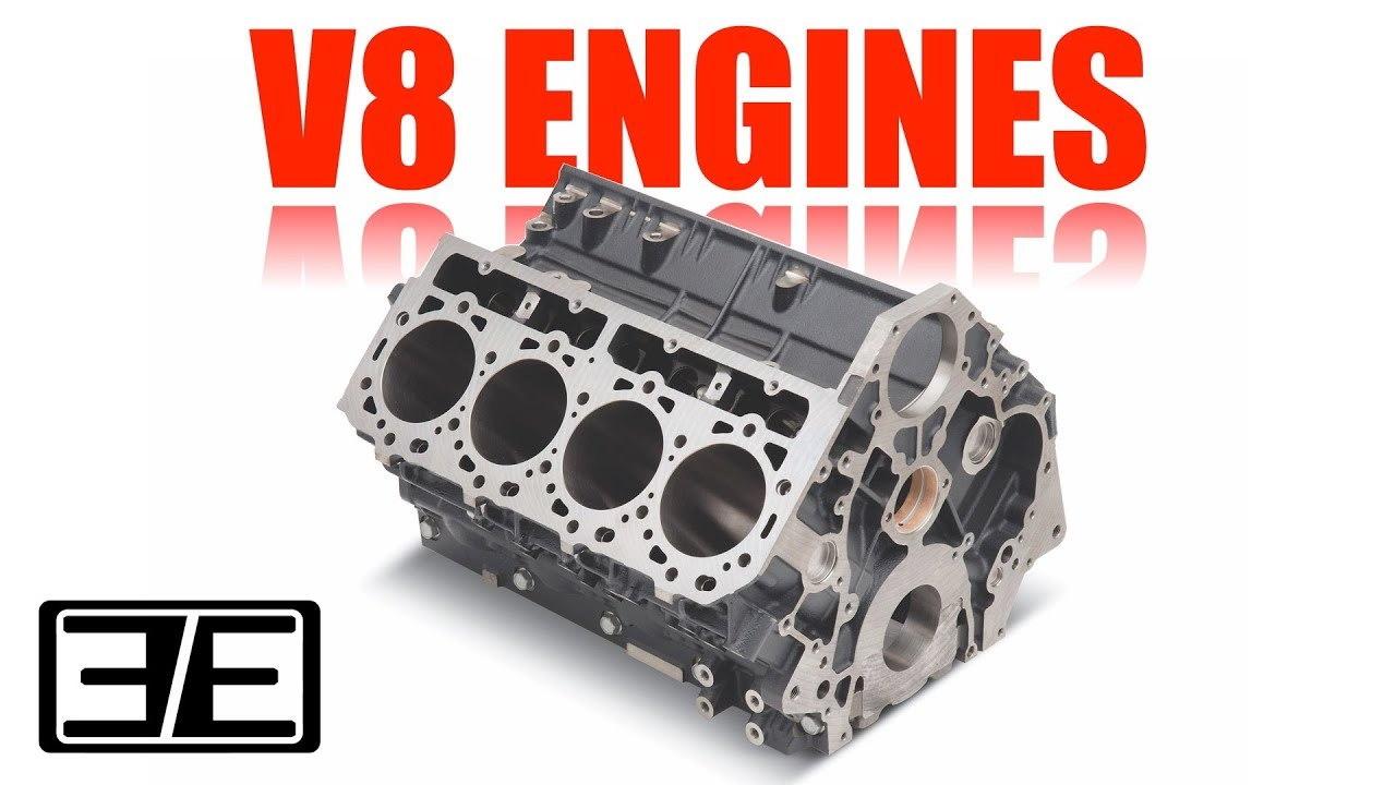 How V-8 engines work