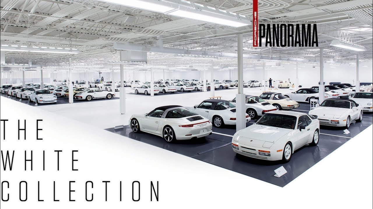 The Porsche White Collection