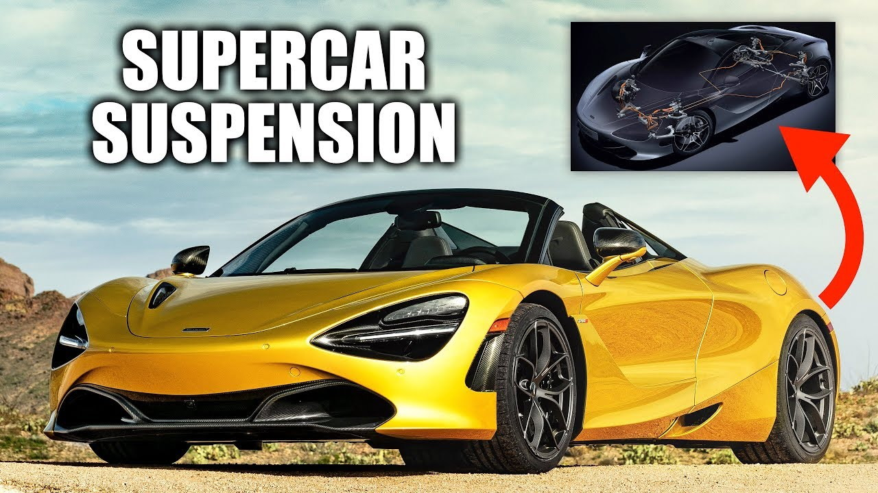 McLaren 720S suspension on Engineering Explained