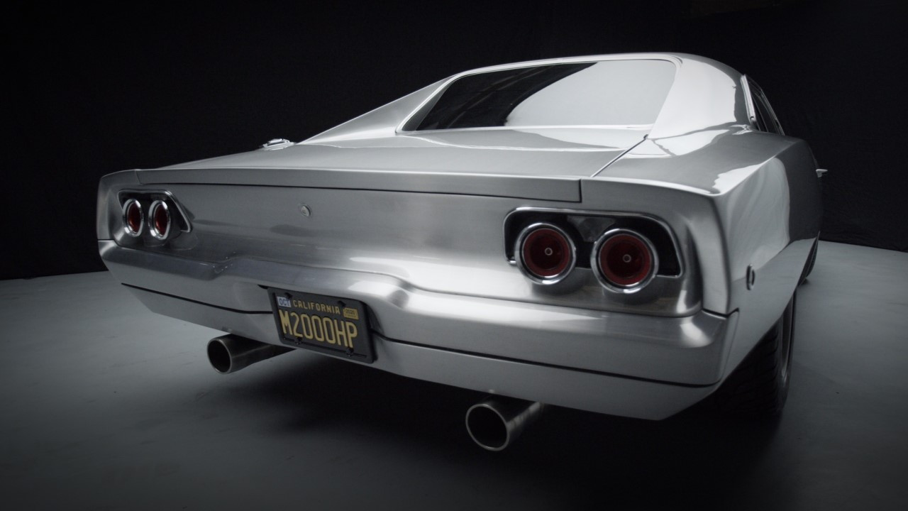 "Maximus the Ultra Charger - Modified 1968 Dodge Charger featured in ""Furious 7"""