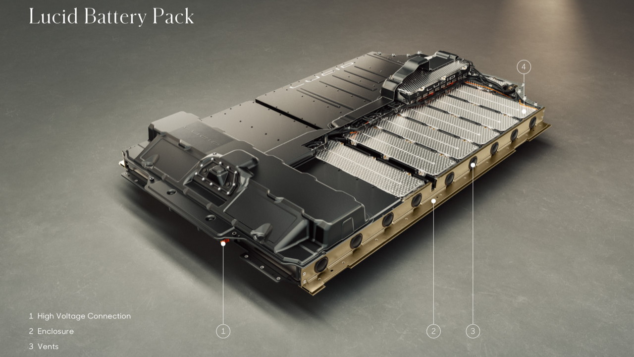 Lucid Air battery pack