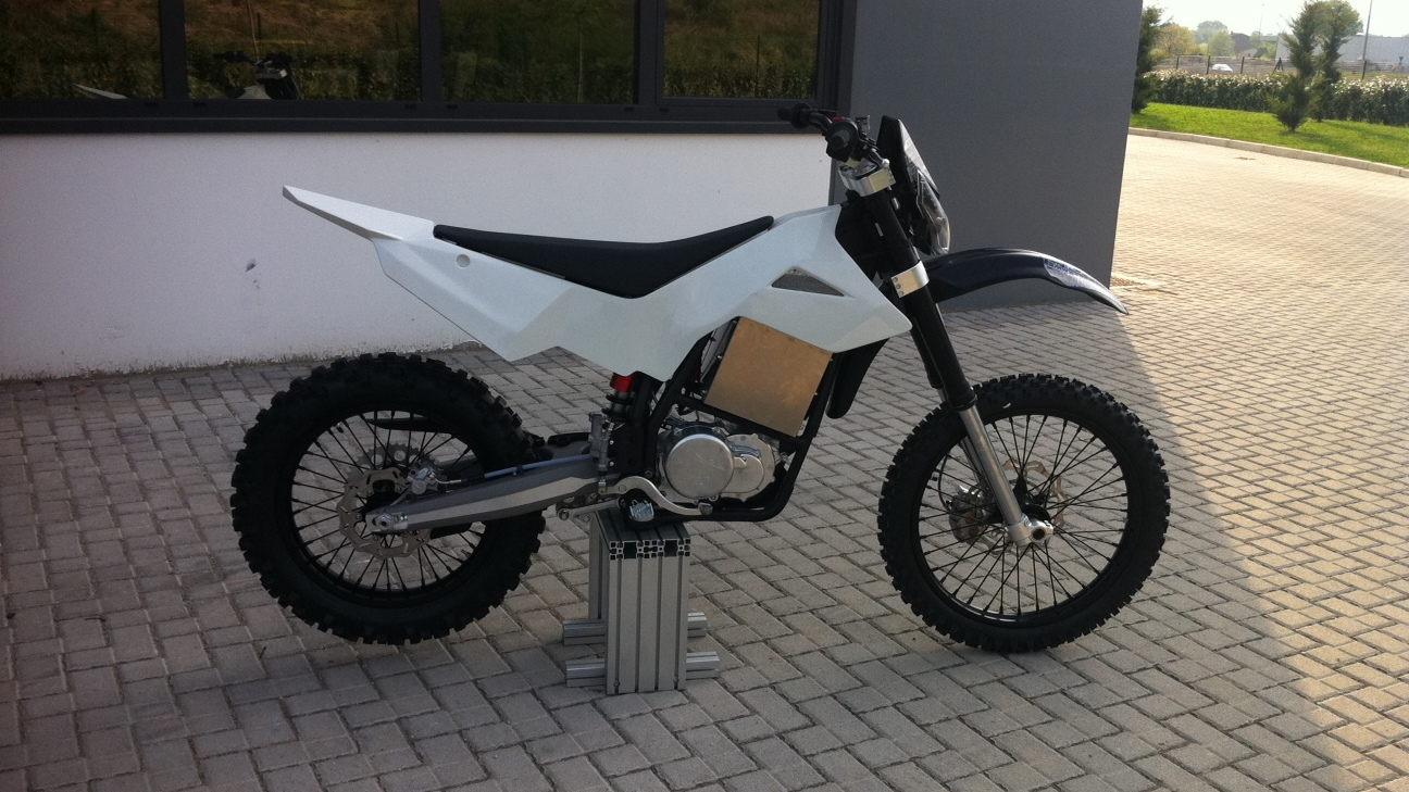 Brammo Engage MX prototype electric motorcycle