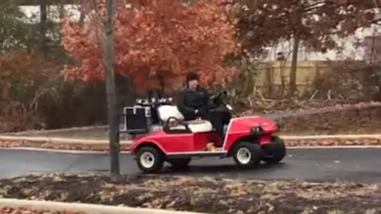 Purdue University IFBattery flow battery runs electric and fuel-cell golf cart