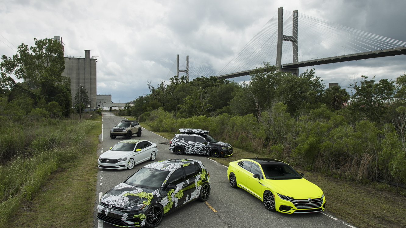 Volkswagen Debuts 2018 Enthusiast Vehicle Fleet at SOWO: The Euro