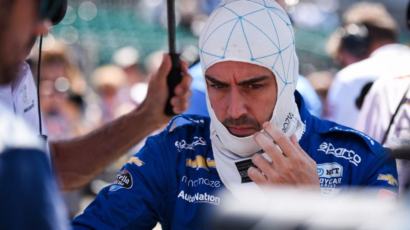 Fernando Alonso, 2019 Indy 500 qualifying