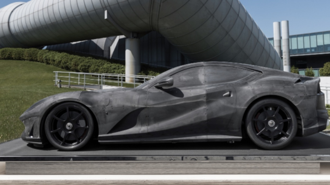 Want To Buy An Engineless Ferrari 812 Superfast