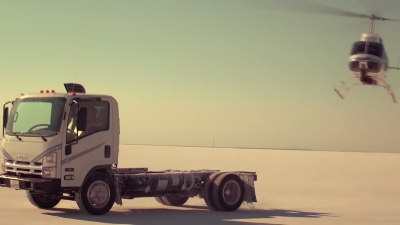 Wrightspeed turbine-electric converted truck