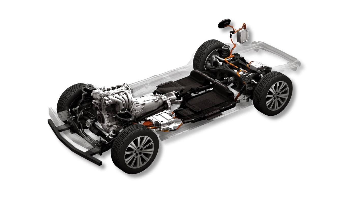 Mazda gasoline plug-in hybrid powertrain