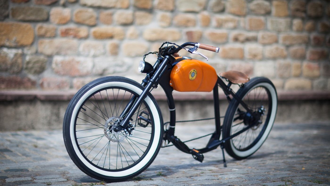 Otocycles' retro electric bicycle