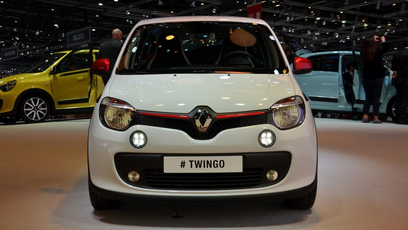 Renault Twingo - 2014 Geneva Motor Show live photos