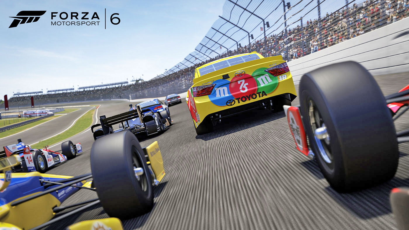 Forza 6 NASCAR expansion pack