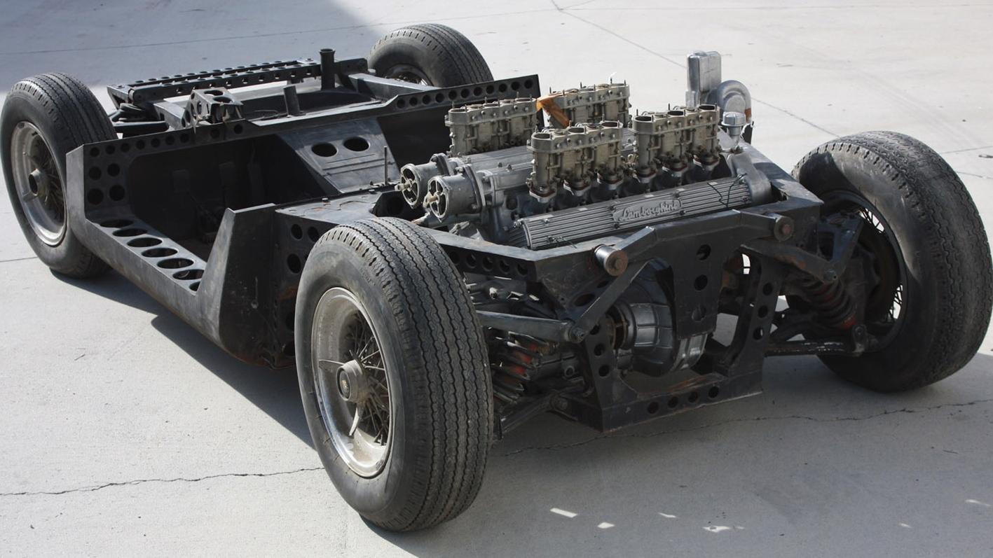 1965 turin salon lamborghini miura chassis 002