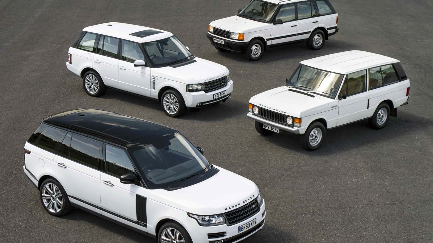 Range Rover Celebrates 45th Birthday