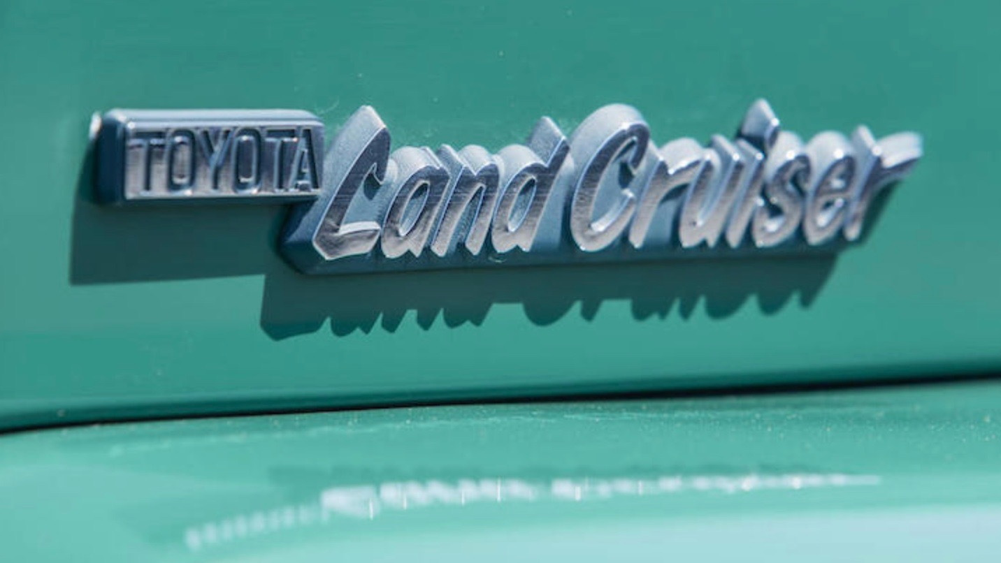 1980 Toyota Land Cruiser FJ40 owned by Tom Hanks (photo via Bonhams)