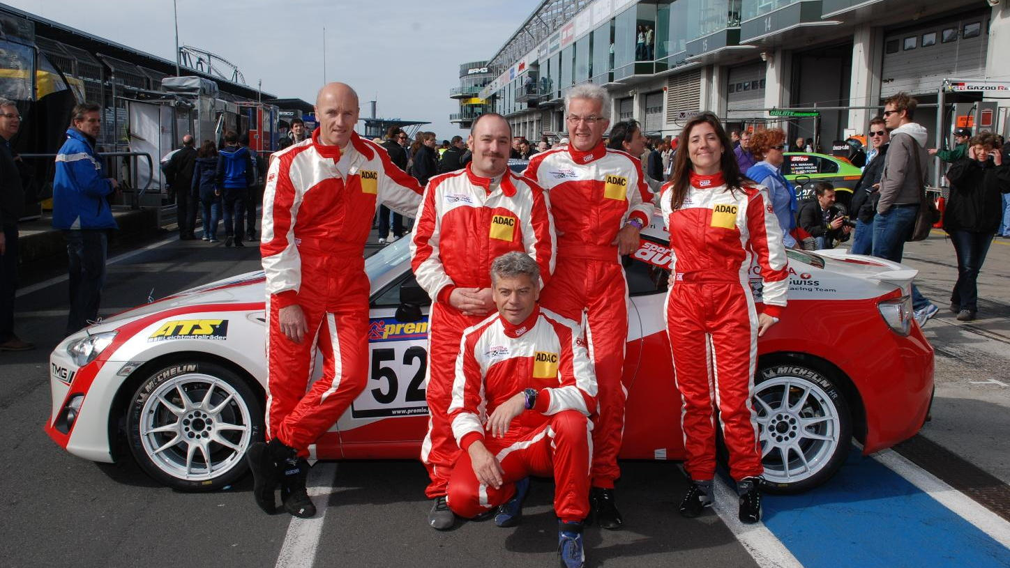 The Toyota Swiss Racing Team GT86