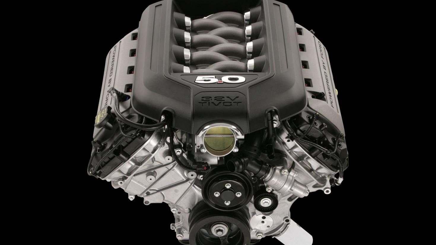 New 5.0-liter V-8  -  2011 Ford Mustang GT