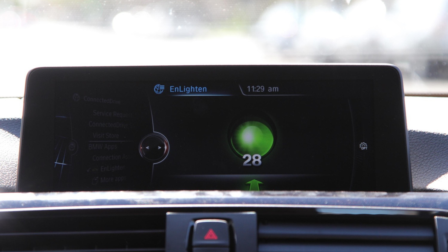BMW EnLighten app integration