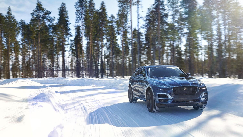 Jaguar F-Pace pre-production prototype