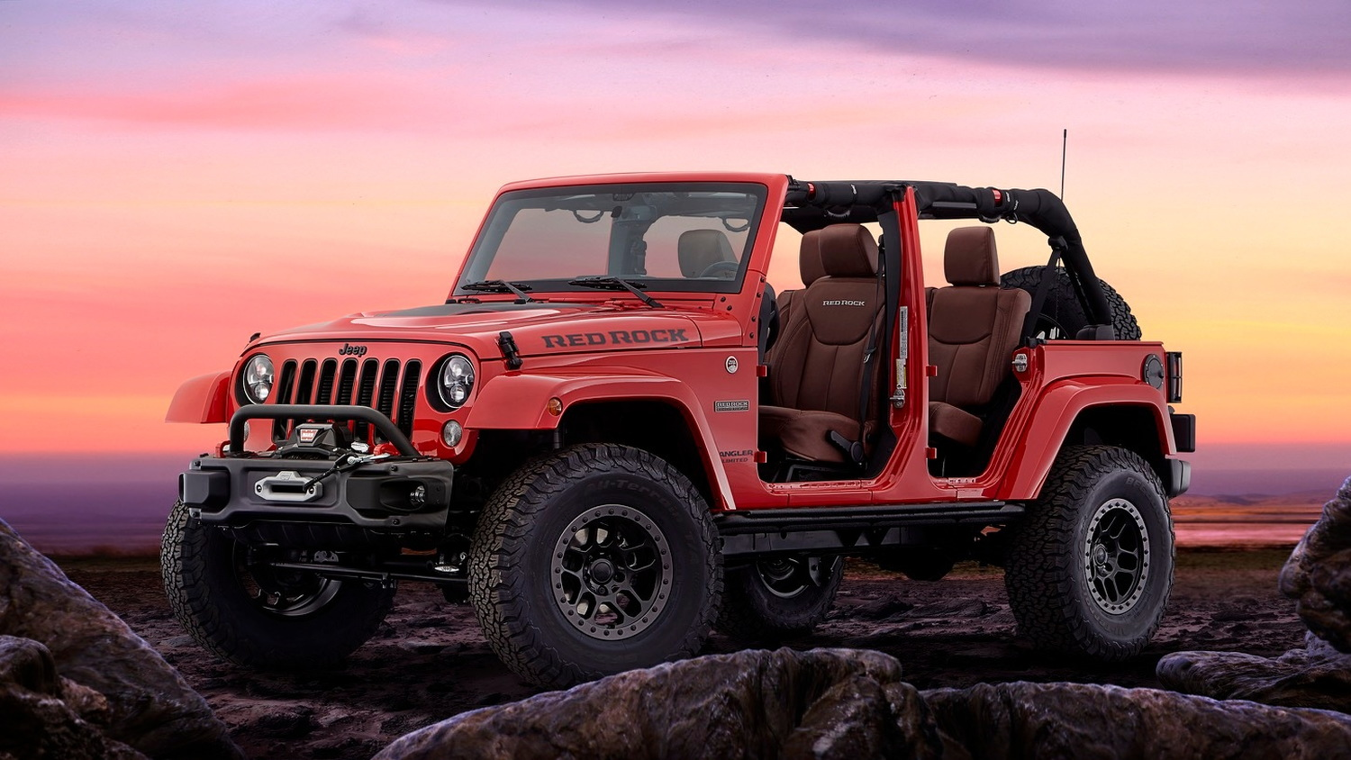 Jeep Wrangler Red Rock concept, 2015 SEMA show