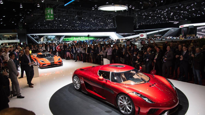 Koenigsegg Regera Live Photos, 2016 Geneva Motor Show