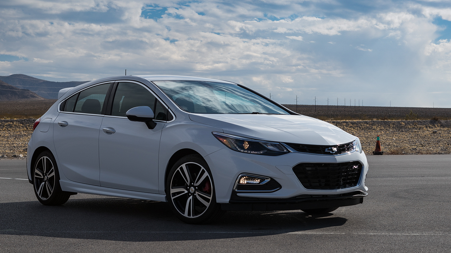 2017 Chevrolet Cruze hatcbhack with Chevrolet Performance Parts