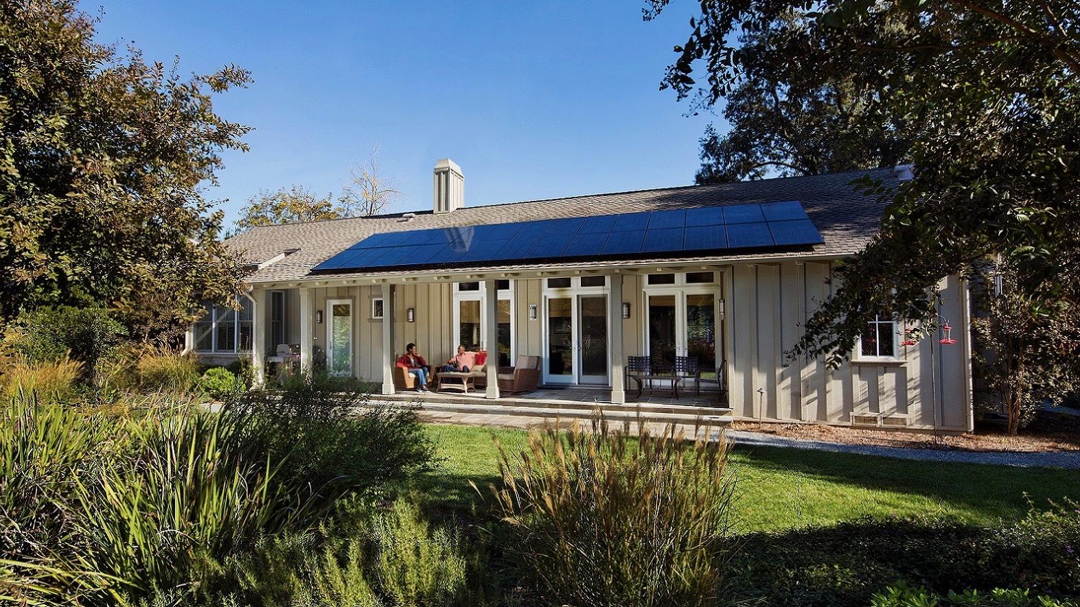 SunPower home solar installation