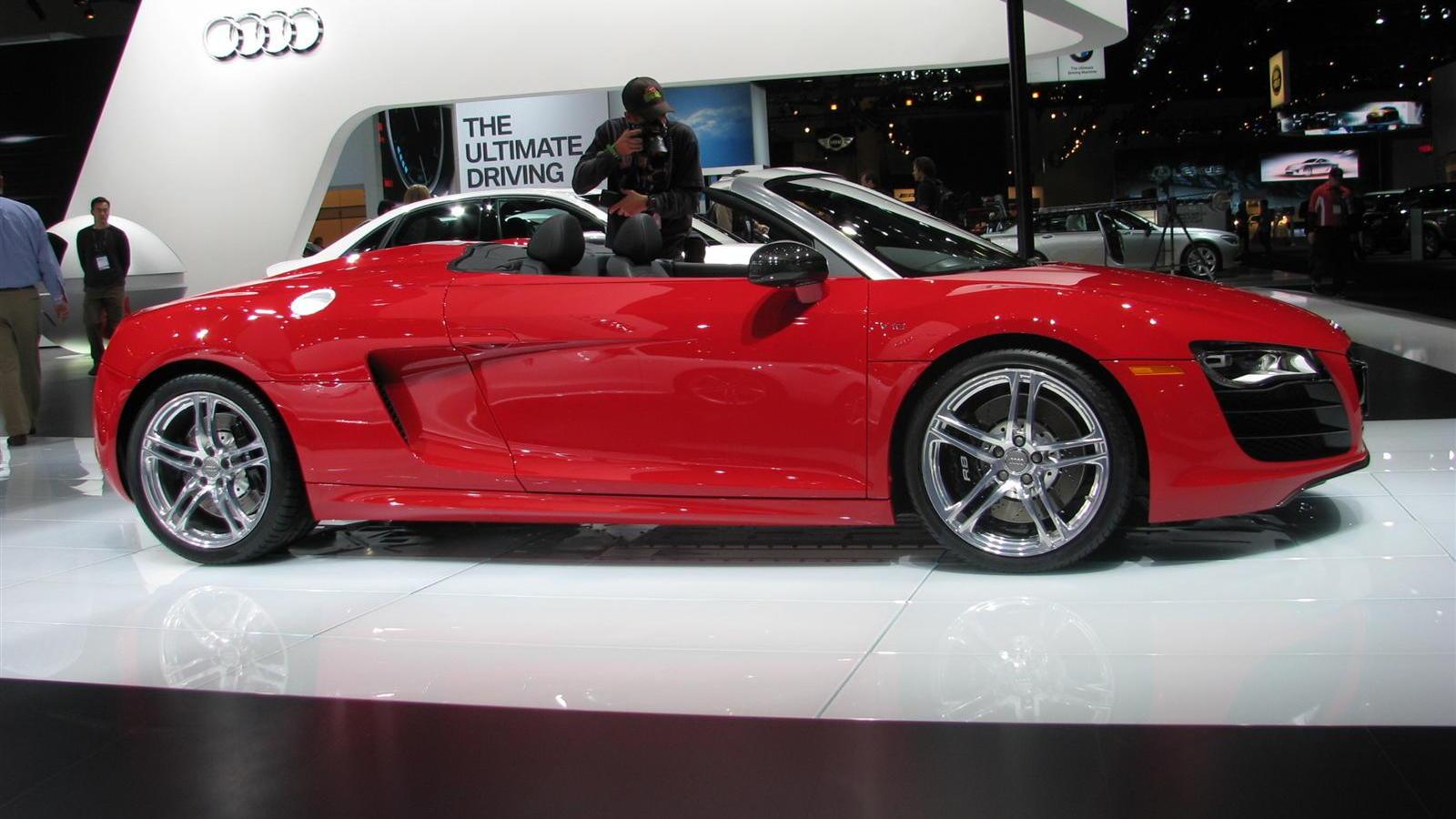 2011 Audi R8 Spyder 5.2 FSI V-10 Los Angeles 2009