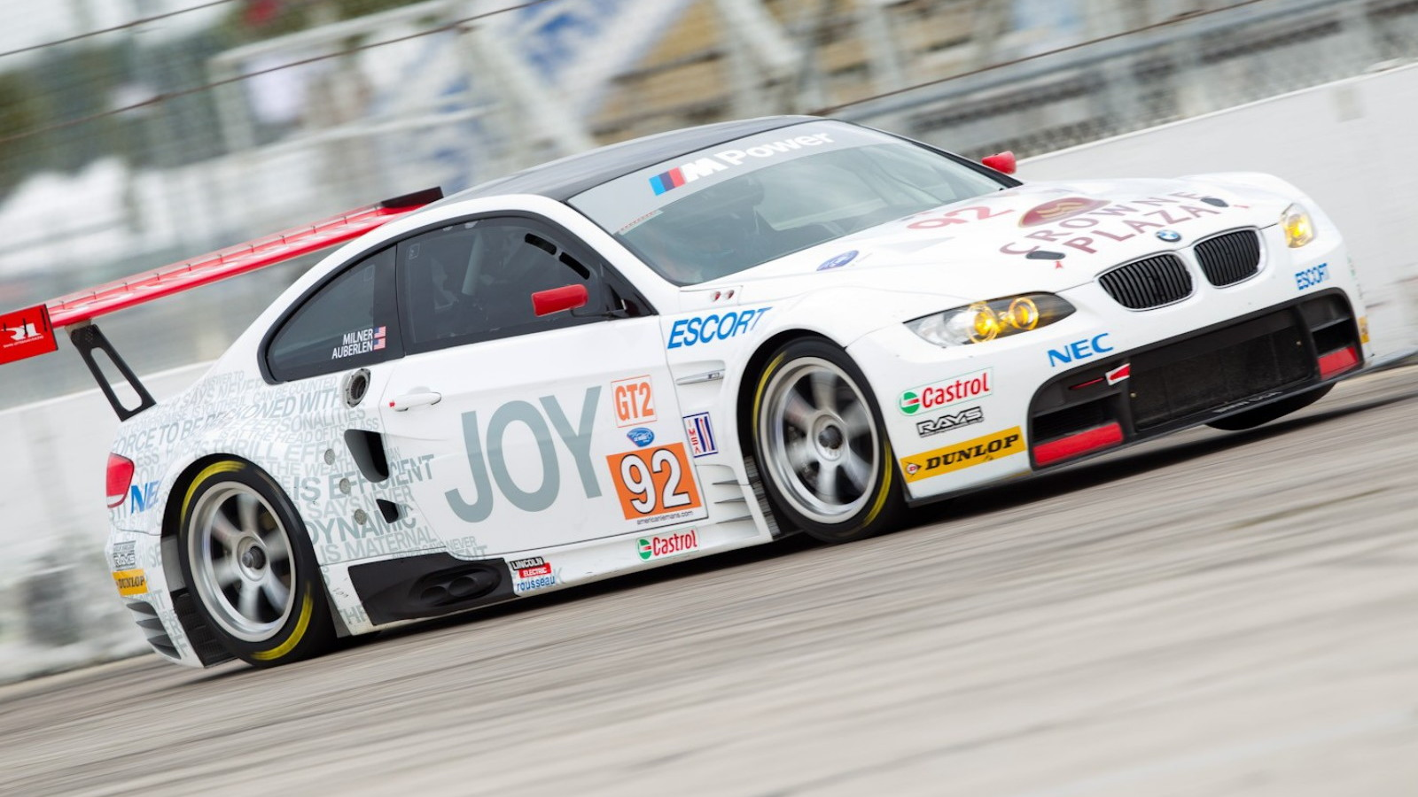 2010 BMW Rahal Letterman Racing M3 GT for ALMS