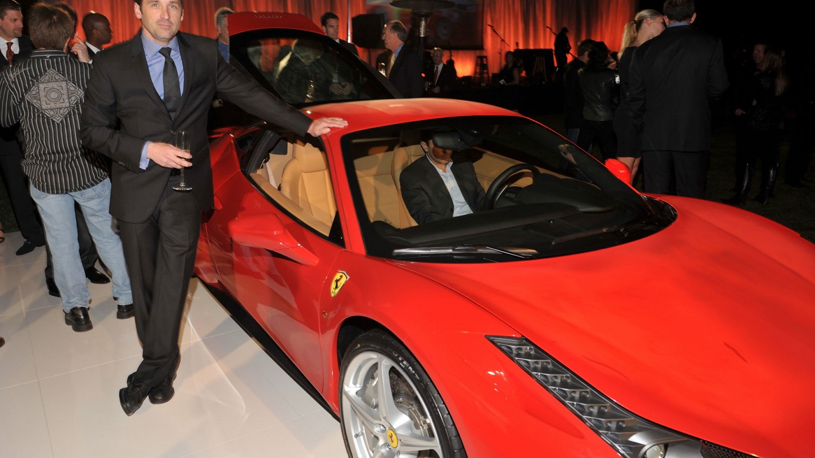 First U.S. Ferrari 458 Italia auctioned for charity