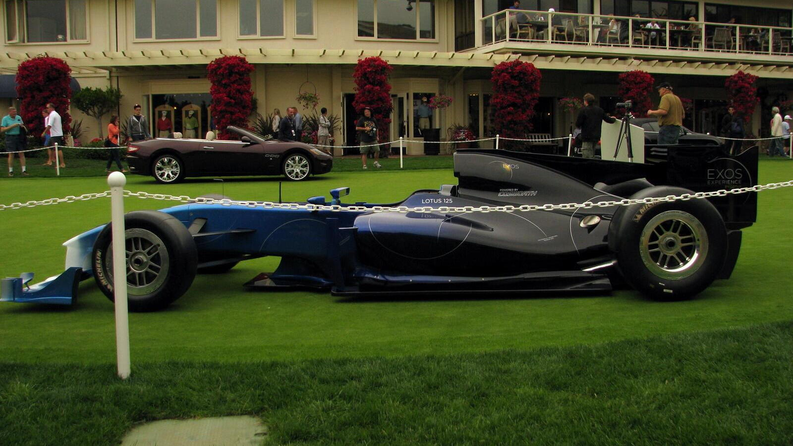 Lotus Exos Type 125 at Pebble Beach
