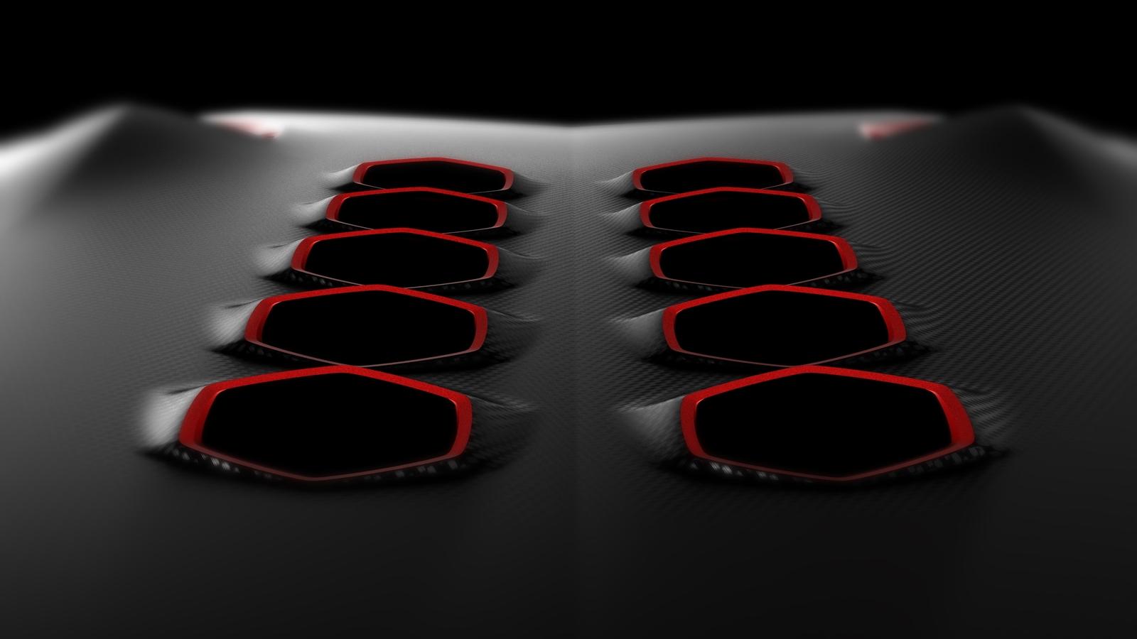 2010 Paris Auto Show Lamborghini Concept second teaser