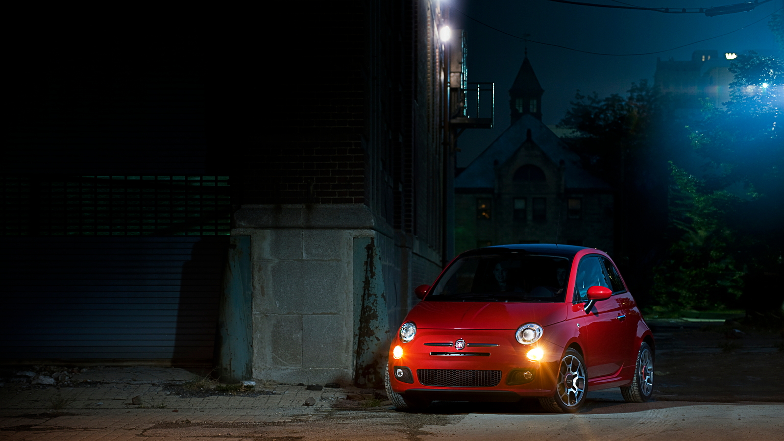 U.S.-spec 2011 Fiat 500 Sport