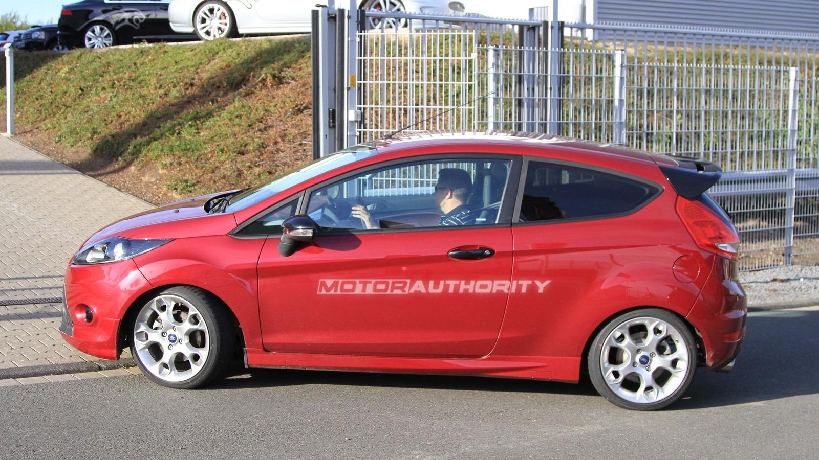 2011 Ford Fiesta ST spy shots
