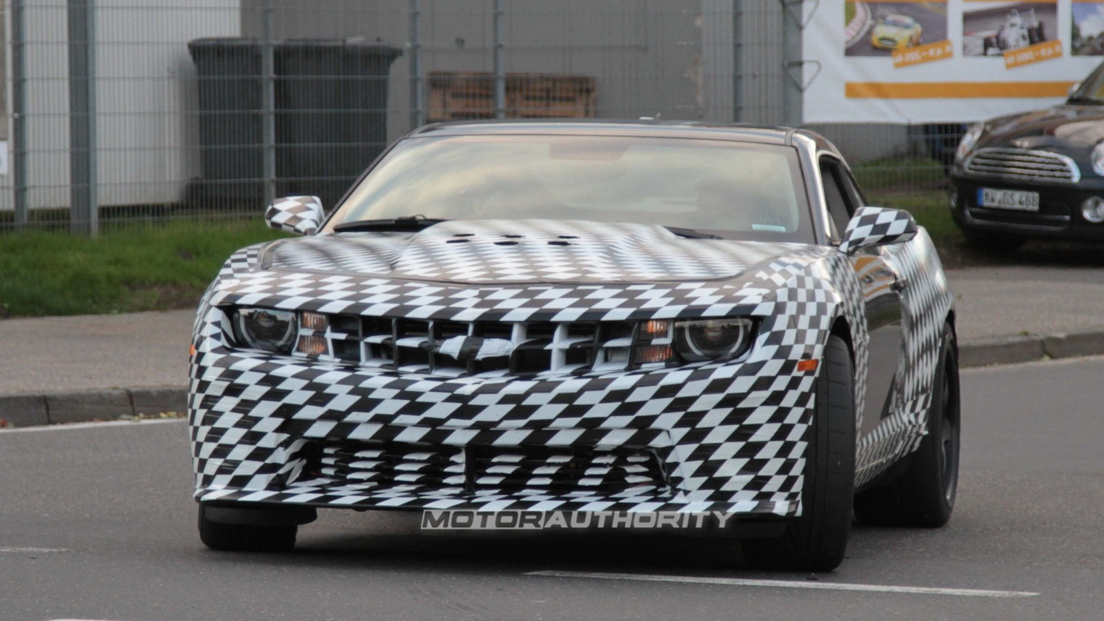 2012 Chevrolet Camaro Z28 spy shots