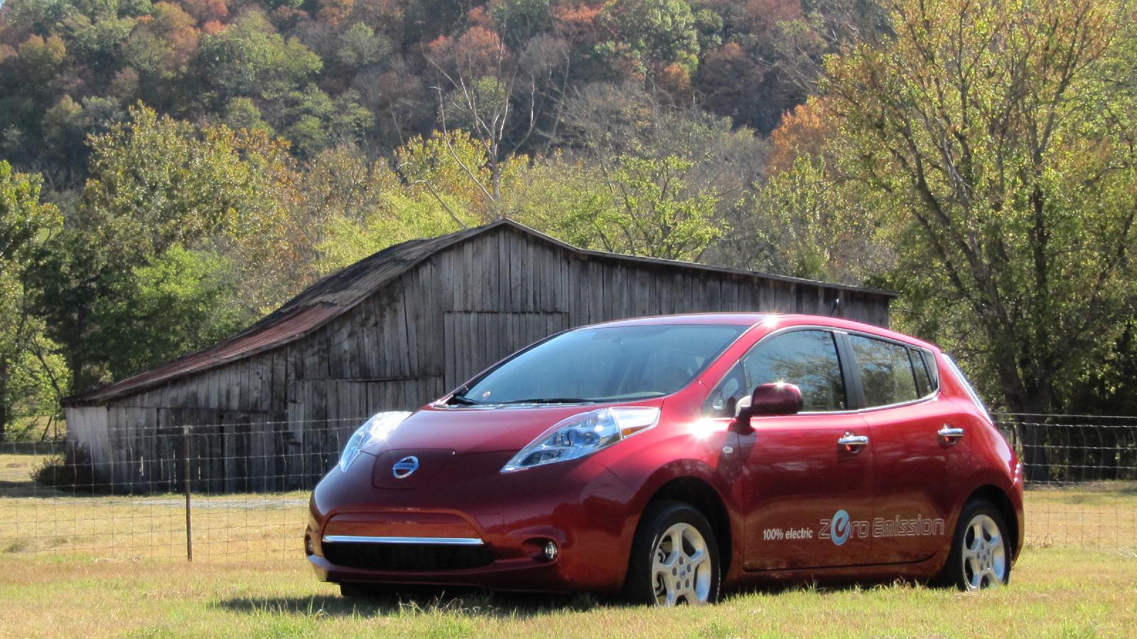 2011 Nissan Leaf, Nashville, October 2010