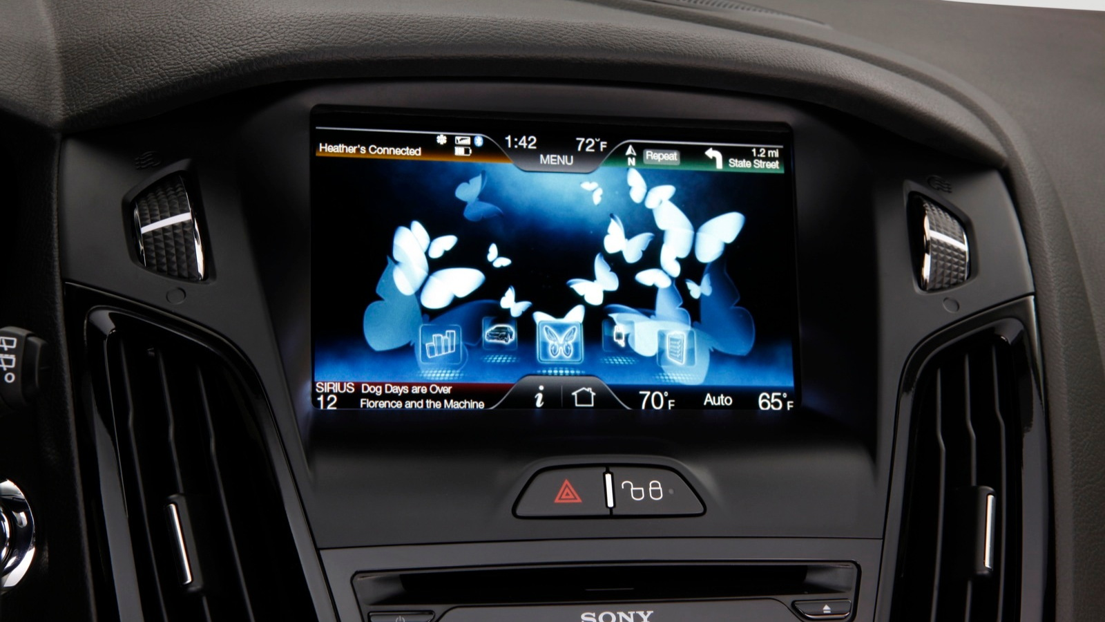MyFord Touch, in 2012 Ford Focus Electric