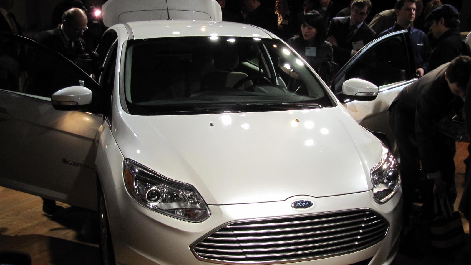 2012 Ford Focus Electric launch, New York City, January 2011