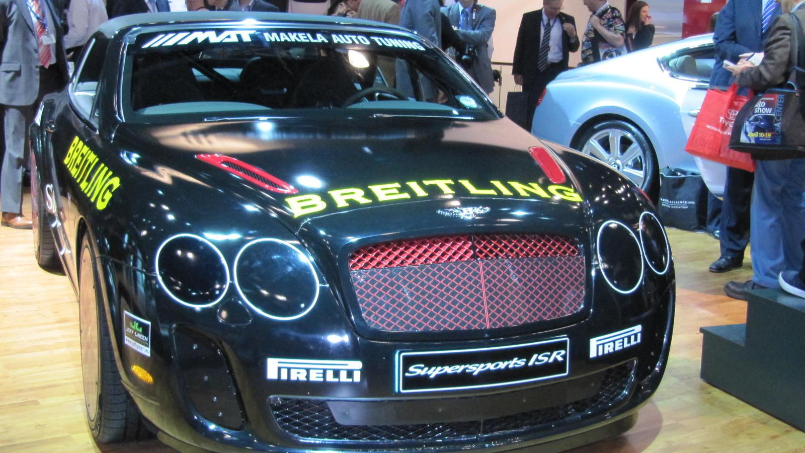Bentley Continental Supersports Convertible ISR and Derek Bell, New York Auto Show, April 2011