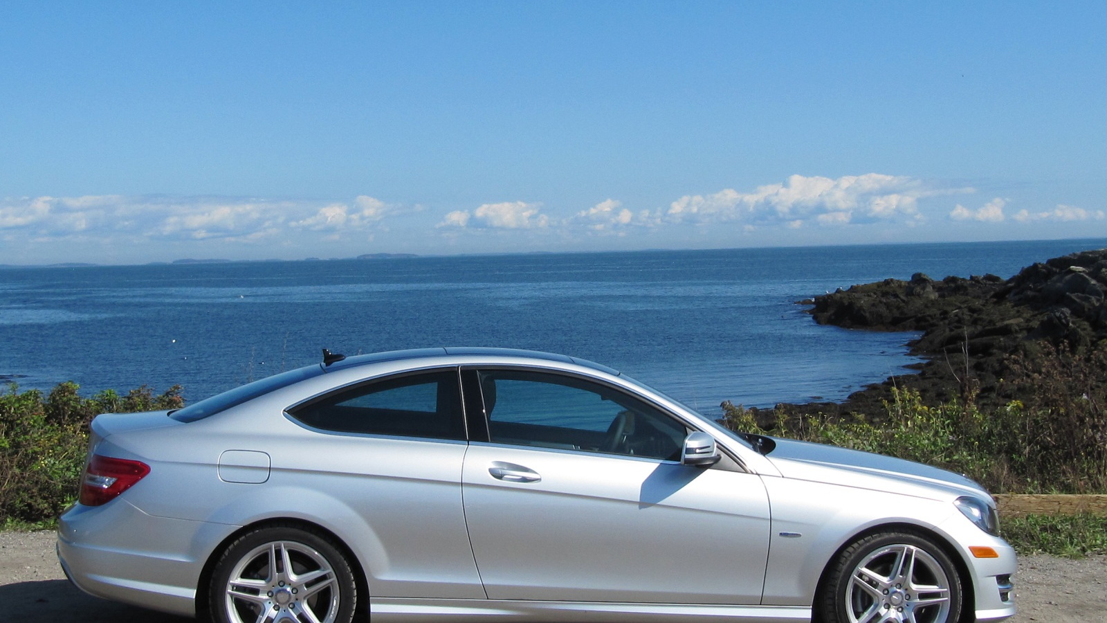 2012 Mercedes-Benz C 250, Maine, September 2011